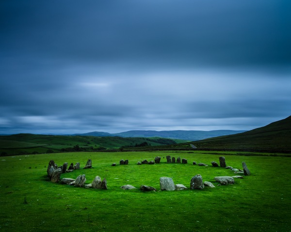 I wouldn't do the same things within this stone circle that people would've done centuries ago