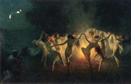 Image result for witches dancing naked