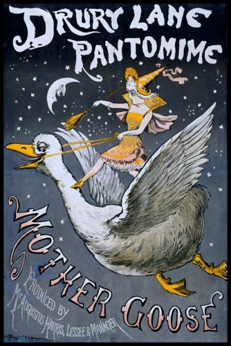 oh look, a Mother Goose illustration similar to the ones she talks about! found in five seconds of googling